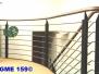 Geländer- modern Edelstahl rostfrei